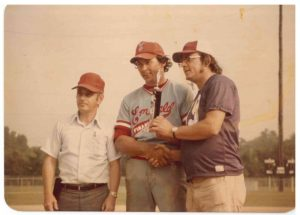 Call him a winner: Roy Burlison was a top fast-pitch pitcher in the American Softball Association, especially for Missouri teams from 1972 to 1980.