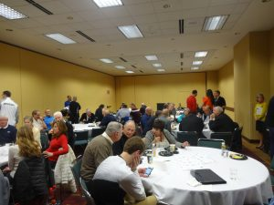 A large crowd turned out for the Missouri Basketball Coaches Association and Missouri Sports Hall of Fame's Final Four reception sponsored by the O'Reillly brothers. The event was Saturday, April 8 at the Indiana Convention Center in Indianapolis.