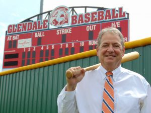 Jim Lumpe, to be honored as a Diamond 9 recipient on May 27, was a standout at Glendale High School in the late 1970s.