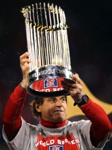 Tony La Russa guided six teams to the World Series and won three championships: 1989 with Oakland, and 2006 and 2011 with the St. Louis Cardinals.