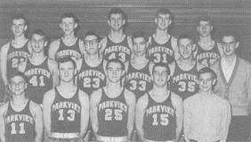 The 1965 Parkview High School boys basketball team won the Class L state championship.