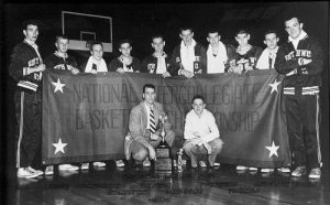 The 1952 Missouri State basketball team won the NAIA national title.