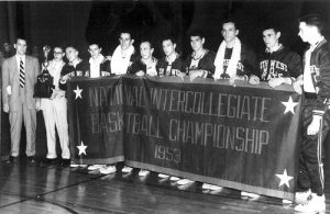 The 1953 MSU Bears won the NAIA national title.
