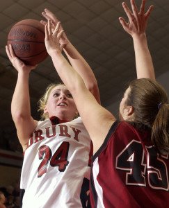 Drury's Sara Bos (courtesy News-Leader)