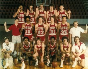 That's Drury's 1979 national championship team, with Nate Quinn the first player, lower left, on the front row.