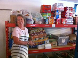 A local food pantry also gets a boost from JHA.