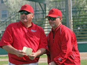 Stratton and Hagler united to lead Drury baseball in 2007.