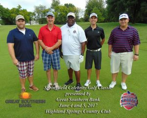 The Jack Henry team featuring Eddie Moss won Monday morning's A Flight.