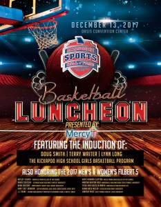 Basketball luncheon-flyer cover 2017