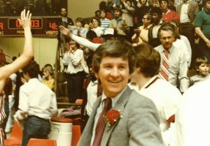 Writer led the 1984 Ozark Tigers to the Final Four after beating St. Francis Borgia in the quarterfinals at Hammons Student Center.
