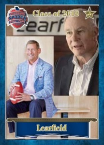Learfield trading card